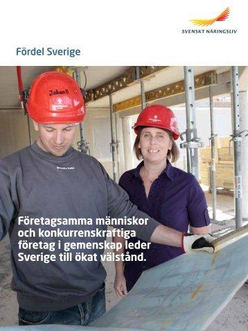 Fördel Sverige - Svenskt Näringsliv