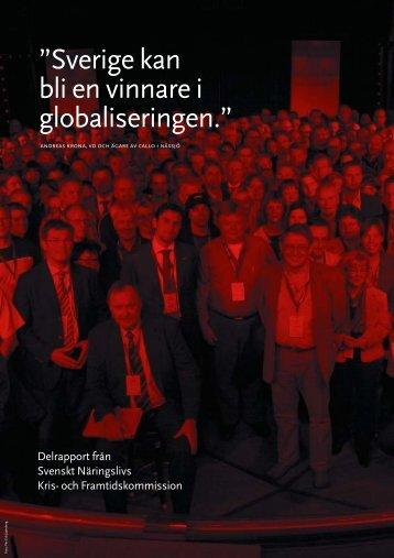 Sverige kan bli en vinnare i globaliseringen - Svenskt Näringsliv