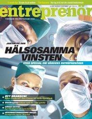 Entreprenör nr 6 2008 - Svenskt Näringsliv