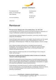 Remissvar 2012-218 - Svenskt Näringsliv