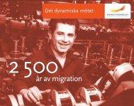 Det dynamiska mötet: 2 500 år av migration - Svenskt Näringsliv
