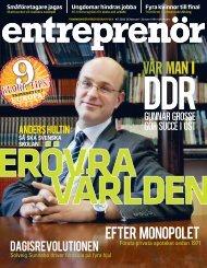 Entreprenör nr 2 2010 - Svenskt Näringsliv