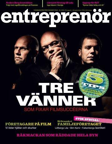 Entreprenör nr 6 2010 - Svenskt Näringsliv