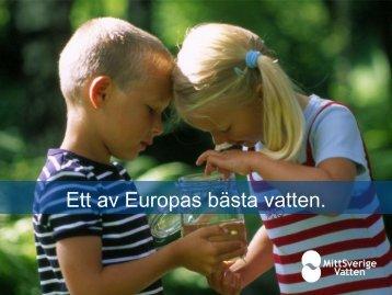 5a. Hans Hagstedt, MittSverige Vatten - Exempel ... - Svenskt Vatten