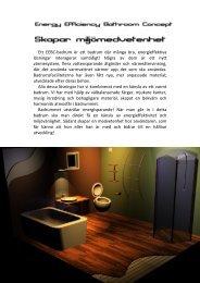 Ett EEBC-badrum är ett badrum där många bra, energieffektiva ...