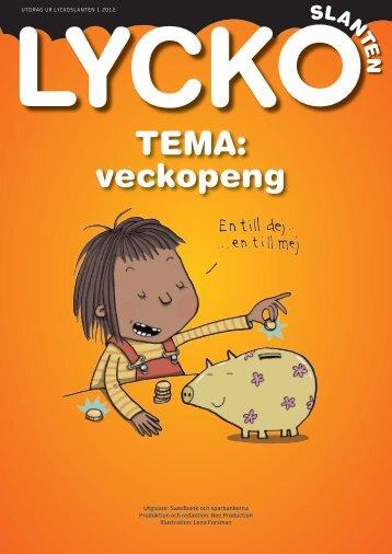 Till temasidor Veckopeng - Swedbank