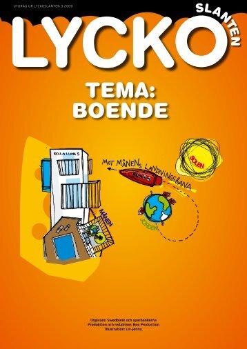 Till temasidor Boende (pdf) - Swedbank