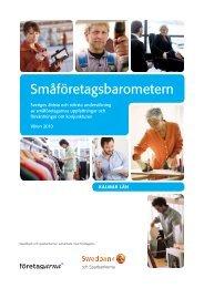 Småföretagsbarometern - Swedbank