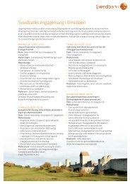 Ladda ner programmet som pdf - Swedbank