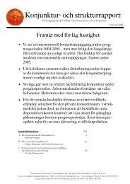 Konjunktur- och strukturrapport, januari - Swedbank