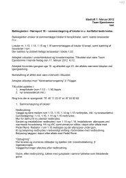 Nørreport 18 – sammenlægning af lokaler mv kortfattet beskrivel