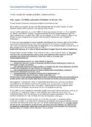 Grundejerforeningen Havelykke - Syddjurs Kommune