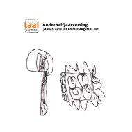 Anderhalfjaarverslag - Stichting Taalvorming