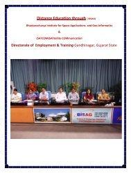 Distance Education through ( BISAG) - Talim Rojgar
