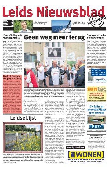 Leids Nieuwsblad 2012-06-29.pdf 13MB - Archief kranten - Buijze ...