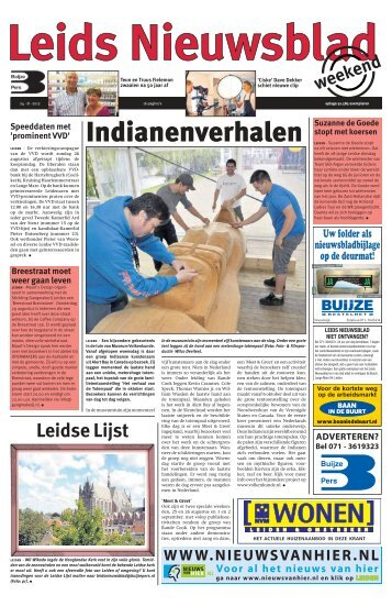 Leids Nieuwsblad 2012-08-24.pdf 8MB - Archief kranten - Buijze Pers