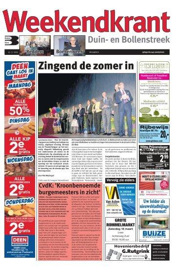 Weekendkrant 2013-03-15.pdf 13MB - Archief kranten - Buijze Pers