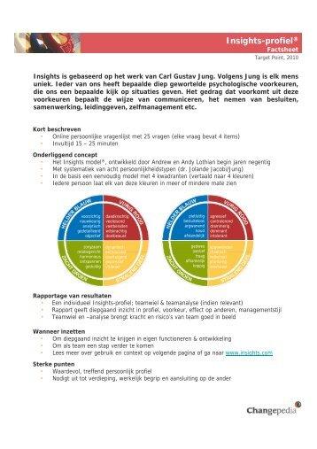 Insights-profiel® - Target Point