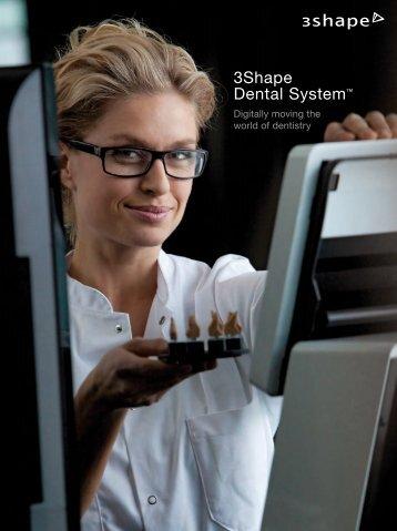 3Shape Technical Brochure - Glidewell Dental Labs