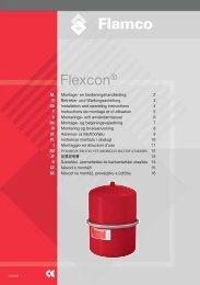 Montage- en bedieningshandleiding - Flamco