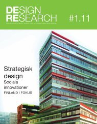 Ladda ner Design Research Journal nr 1 2011 - SVID, Stiftelsen ...