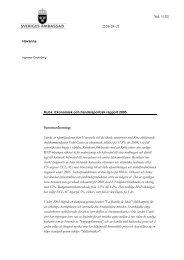 Sid. 1(10) 2006-04-21 Sammanfattning: Stärkt av ... - Sweden Abroad