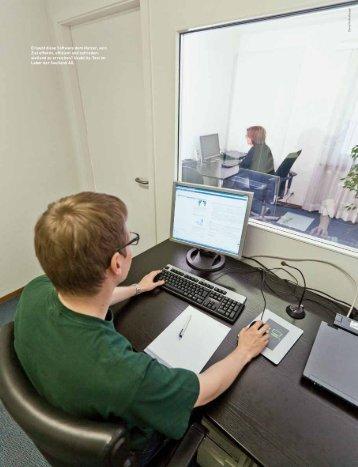 Erlaubt diese Software dem Nutzer, sein Ziel effektiv, effizient und ...