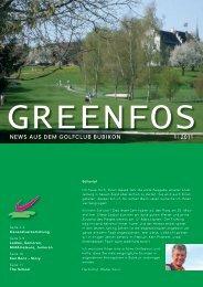 Ausgabe 01 / 11 (2'414 KB) - Swiss Golf Bubikon