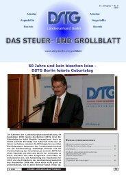 60 Jahre und kein bisschen leise - DSTG Berlin feierte Geburtstag