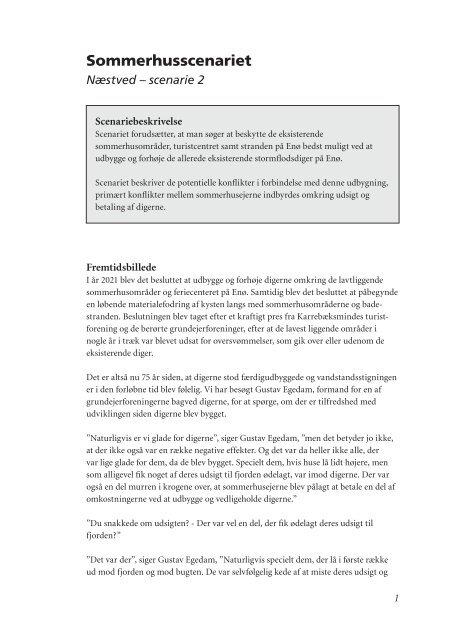 Sommerhusscenariet (pdf 32 kb)