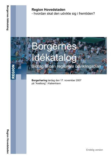 Borgernes Idékatalog - Teknologirådet
