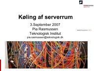 Gruppe 3 - Pia Rasmussen, Teknologisk Institut (394 KB)