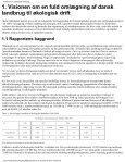 """""""Visionen om økologisk landbrug"""" i PDF format. - Teknologirådet - Page 4"""