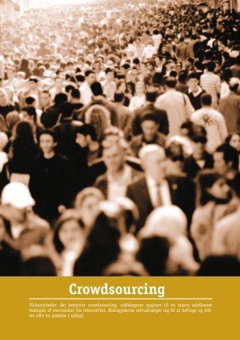 Crowdsourcing - Teknologisk Institut