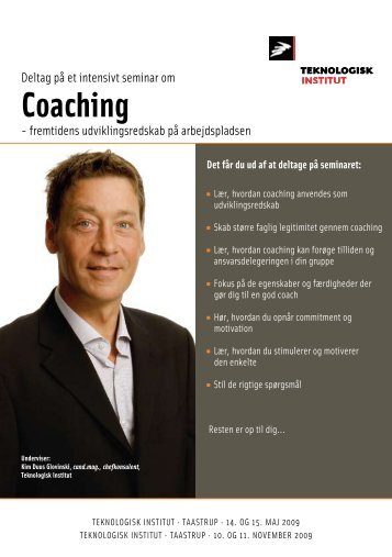 Coaching - Teknologisk Institut
