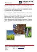 økologisk fiskefoder med vegetabilsk protein - Teknologisk Institut - Page 2