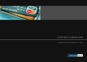 MasterCard Corporate Card - Kortbestemmelser (pdf)