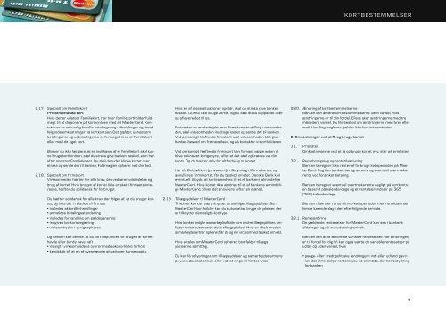MasterCard Corporate Card - Kortbestemmelser (pdf)