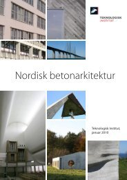 D2 Nordisk betonarkitektur - Teknologisk Institut