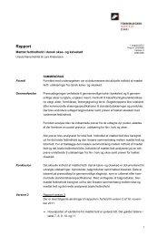 Mættet fedtindhold i dansk okse og kalvekød - Teknologisk Institut