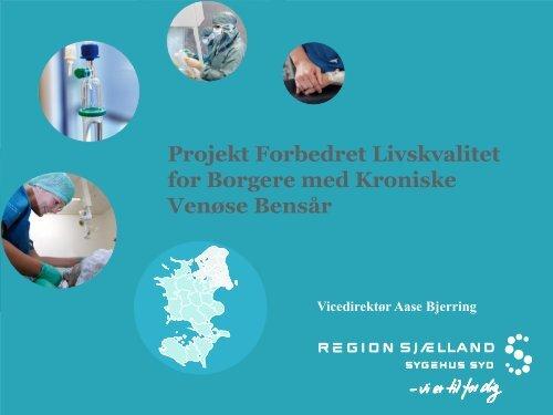 Introduktion til projektet ved Aase Bjerring, Vicedirektør, Sygehus ...