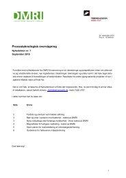 Nyhedsbrev 7 - Procesteknologisk overvågning September 2010