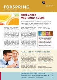 Forspring 2008 Nr. 3 (714 KB) - Teknologisk Institut