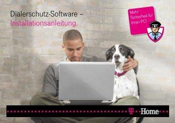 Dialerschutz-Software – Installationsanleitung. - Telekom