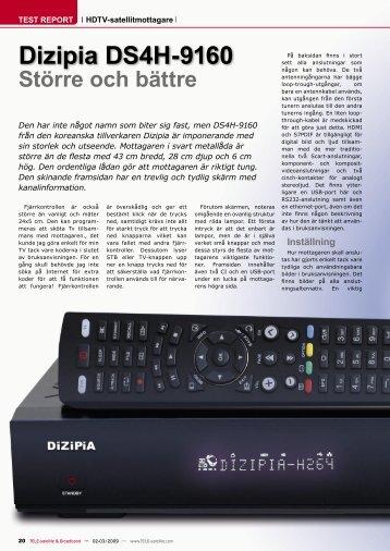 Större och bättre Dizipia DS4H-9160