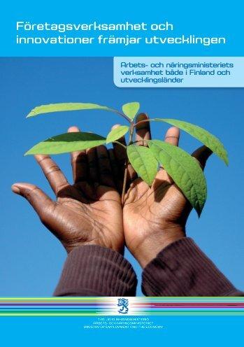 Företagsverksamhet och innovationer främjar utvecklingen