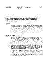 Ansökan om principbeslut 25 4 2008