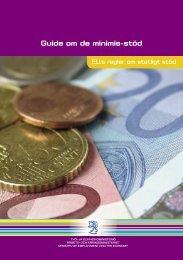 Guide om de minimis-stöd (pdf) (1.5 MB)