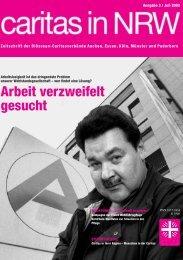 !RBEIT GESUCHT - Caritas NRW
