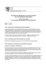 Protokoll der Mitgliederversammlung am 20. Februar 2010 in ...